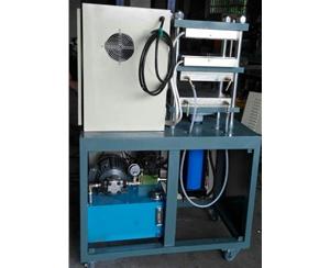 32吨冷热一体自动压片机开放式